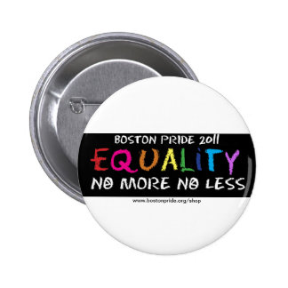 Equality Standard Pinback Button