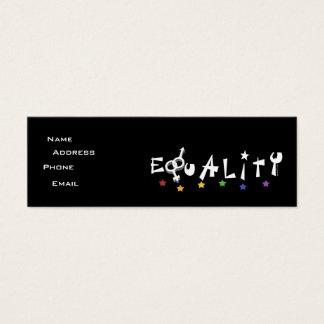 Equality Stars Profile Card