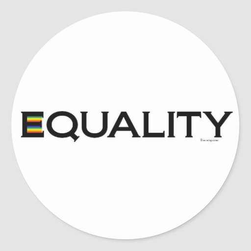EQUALITY stickers