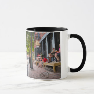 Equality Street watercolor painting on a Mug