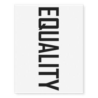 Equality Temporary Tattoos