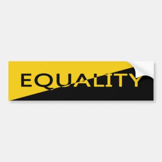 Equality through Anarchy Bumper Sticker