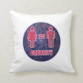 Equality V2 Throw Pillow