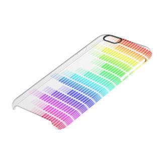 equalizador del arco iris funda clearly™ deflector para iPhone 6 de uncommon