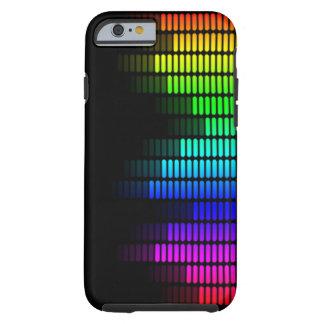 equalizador del arco iris funda para iPhone 6 tough