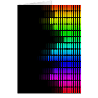 equalizador del arco iris tarjetas