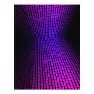 Equalizador violeta tarjetas publicitarias