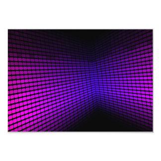 Equalizador violeta invitación 12,7 x 17,8 cm