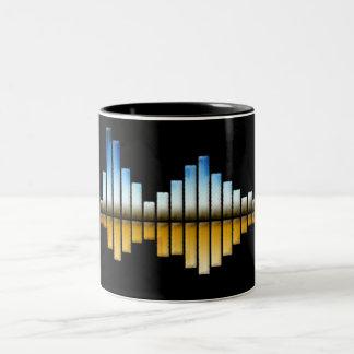 Equalizer #1 Two-Tone coffee mug