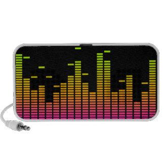 Equalizer Doodle Speaker (pink / orange / green)