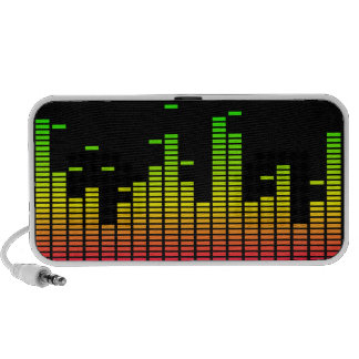 Equalizer Doodle Speaker (red / yellow / green)