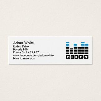 Equalizer Mini Business Card