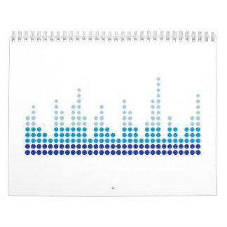 Equalizer music calendar