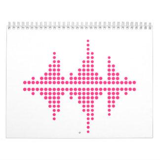 Equalizer music DJ Calendar