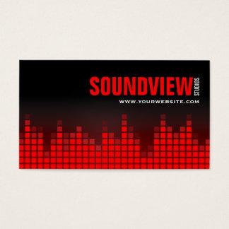 Equalizer Sound Bars Business Card