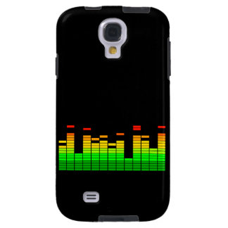 Equalizer Vibes Decor Beat of DJ Music Galaxy S4 Case