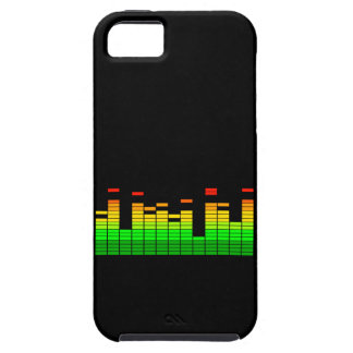 Equalizer Vibes from the Beat of DJ Music decor iPhone SE/5/5s Case