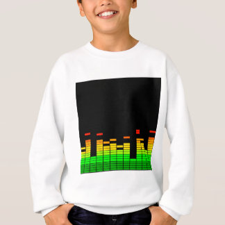 Equalizer Vibes from the Beat of DJ Music decor Sweatshirt