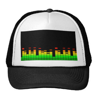 Equalizer Vibes from the Beat of DJ Music Trucker Hat