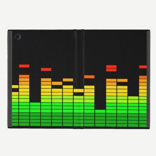 Equalizer Vibes from the Beat of DJ Music iPad Mini Case