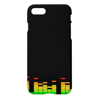 Equalizer Vibes from the Beat of DJ Music iPhone 7 Case