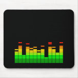 Equalizer Vibes from the Beat of DJ Music Mouse Pads