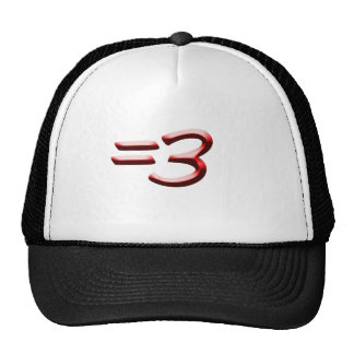 Equals Three Hat