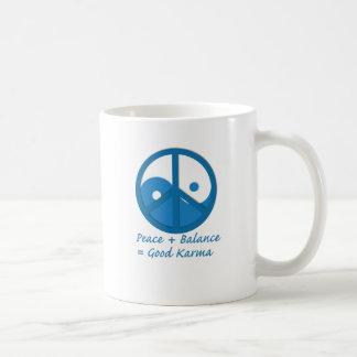 Equation for Good Karma Coffee Mugs