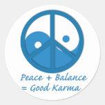 Equation for Good Karma Sticker