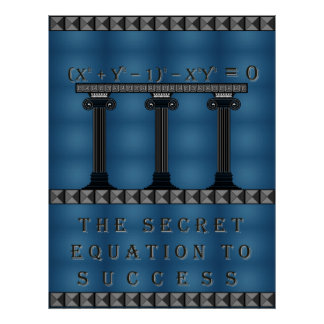 Equation to Success Posters