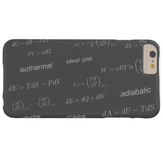 Equations of Thermodynamics Barely There iPhone 6 Plus Case