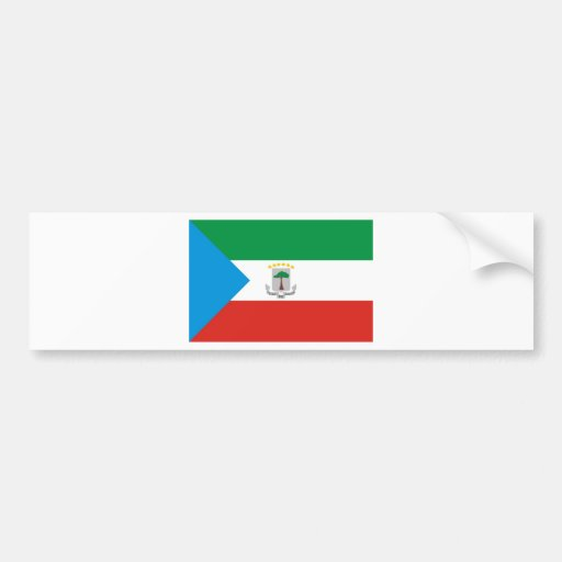 Equatorial Guinea Bumper Stickers