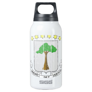 Equatorial Guinea Coat Of Arms 10 Oz Insulated SIGG Thermos Water Bottle