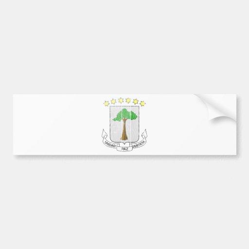 Equatorial Guinea Coat Of Arms Bumper Stickers