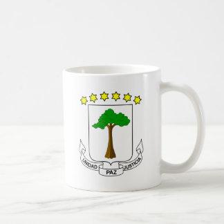 Equatorial Guinea coat of arms Classic White Coffee Mug