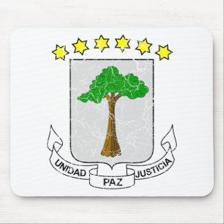 Equatorial Guinea Coat Of Arms Mouse Pad