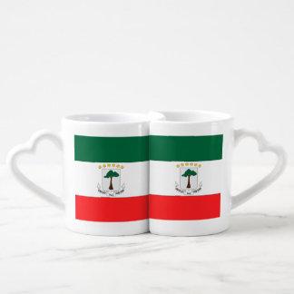 Equatorial Guinea Couples' Coffee Mug Set