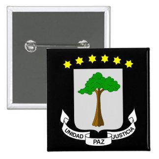 equatorial guinea emblem button