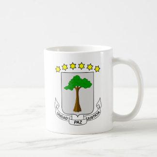 equatorial guinea emblem classic white coffee mug