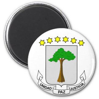 equatorial guinea emblem magnet