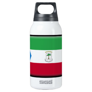 Equatorial Guinea Flag 10 Oz Insulated SIGG Thermos Water Bottle