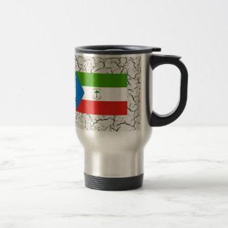 Equatorial Guinea Flag 15 Oz Stainless Steel Travel Mug