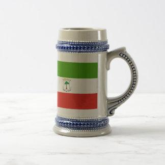Equatorial Guinea Flag 18 Oz Beer Stein