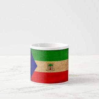 Equatorial Guinea Flag 6 Oz Ceramic Espresso Cup