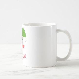 Equatorial Guinea Flag Heart Classic White Coffee Mug