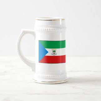 Equatorial Guinea Flag ~ Map Mug