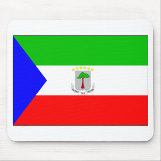 Equatorial Guinea Flag Mouse Pad