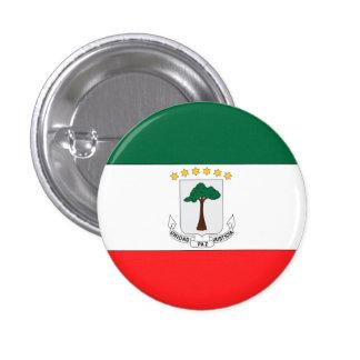 Equatorial Guinea Flag Pinback Button