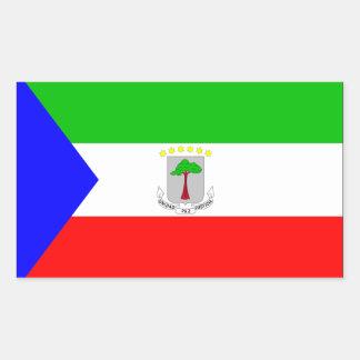 Equatorial Guinea Flag Rectangular Sticker