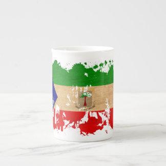 Equatorial Guinea Flag Tea Cup